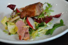 bistrode CBD Duck Salad Recipes, Sydney Restaurants, Chefs, Salads, Celebrity, Plates, Warm, Dishes, Meat