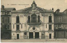 La salle des nouveautés, place de la République, Limoges, vers 1911. Bfm Limoges