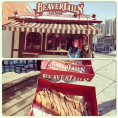 A Canadian Classic, from the original BeaverTails store at Ottawa's Byward Market Instagram photo by @stefaniabieber13 (Stefania Bieber!)