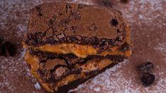 Čokoládový koláč s karamelovou plnkou | Recepty.sk Ale, Food, Ale Beer, Essen, Meals, Yemek, Eten, Ales, Beer
