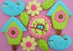 Spring cookies :) Repinned By:#TheCookieCutterCompany