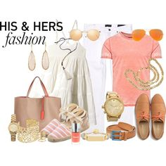"""""""His & Hers"""" by lacindasarco on Polyvore"""