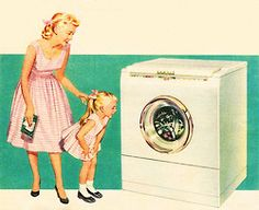 Bendix Washer… who knew a washing machine would provide such entertainment?