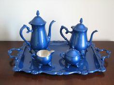 Tea sets.