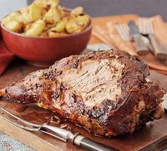 Slow-roast lamb with cinnamon, fennel & citrus. A friend cooked this for us and it was truly divine.
