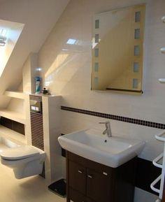 Łazienka na poddaszu - łazienka uczestnika konkursu Nasze łazienki, okno dachow w łazience na poddaszu