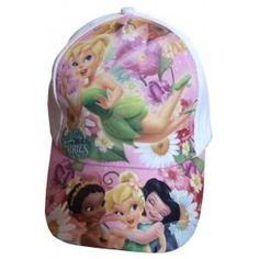 Casquette Disney Fairies avec Clochettes  Iridessa et Ondine – Blanche