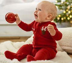 Darling Reindeer Baby Icon Pajamas http://rstyle.me/n/t59irnyg6