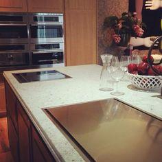 #cocina #madera de #roble #espacio20 en #casadecor2015 #madrid #cocinas #interiorismo #murellicucine #diseño #italiano #electrodomésticos #fulgor #antitendencia
