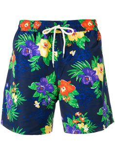 9cdc4a2669e POLO RALPH LAUREN POLO RALPH LAUREN FLORAL DRAWSTRING SWIM SHORTS - BLUE.   poloralphlauren  cloth