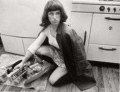 Cindy Sherman, Untitled Film Still #7, 1978, groundbreaking series on female stereotypes
