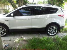 awesome ford escape 2013 titanium white car images hd new mud flaps   Page 3   2013 2014 2015 Ford Escape Forum