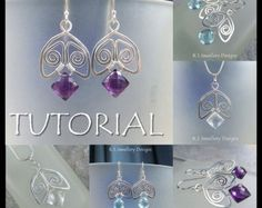 Wire Jewelry Tutorial  FIVE BEAD FLOWERS  Step by Step Wire