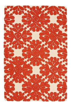 Rug for the living room? Too bright orange? White bad with the fur family?