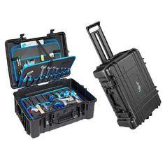 B & W Heavy Duty Outdoor Jumbo Style Wheeled Tool Case