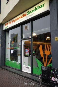De Vegetarische Snackbar, Den Haag nu ook een snackbar op het waterlooplein!!