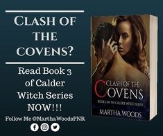 A dark shadow is whispers my name at night. It is growing stronger and stronger.  Am I going crazy?  Clash Of The Covens (Calder Witch Series Book 3) READ IT NOW!!!    https://amzn.to/2GRepbX  #calderwitch #book3 #clashofthecovens #marthawoodspnr #readersfavorites