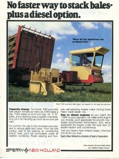 1980 Sperry New Holland 1069 Bale Wagon New Holland Ford, New Holland Tractor, Big Tractors, Ford Tractors, New Holland Agriculture, Homemade Tractor, Farm Pictures, Old Farm Equipment, Ford News