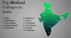 List of Medical Colleges in India | MBBS BDS Colleges in India