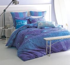 Time to update your quilt cover? Coming in a huge array of colours and styles, you're sure to find the perfect quilt cover set with Linen House. Kids Bedding Sets, Queen Bedding Sets, Luxury Bedding Sets, Beige Bed Linen, House Quilts, Quilt Cover Sets, Cool Beds, Bed Covers, Coastal Decor