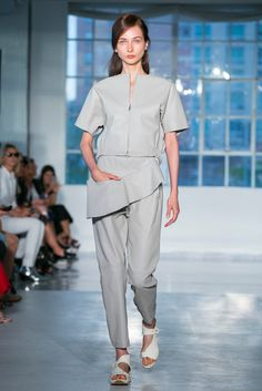A look from the Zero + Maria Cornejo Spring 2015 RTW collection.