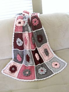 Field of Dreams Baby Blanket (need to crochet this for Mila, she will be here SOON!)