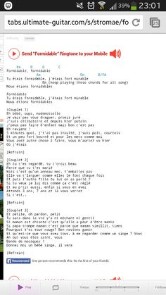 Formidable- Stromae. Guitar tabs Piano Tabs, Guitar Tabs, Ukulele, Partitions, All Songs, Musica, Guitar