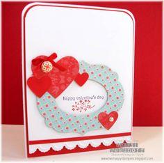 A Framed Valentine by stamptek - Cards and Paper Crafts at Splitcoaststampers