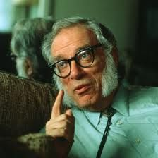 Isaac Asimov Professor of biochemistry and author of more than 500 science-fiction and popular science books. Isaac Asimov, Science Books, Science Fiction, What Is Intelligence, Hollywood, Atheism, Good People, Cyberpunk, Guys