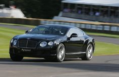 Bentley GT Speed at speed