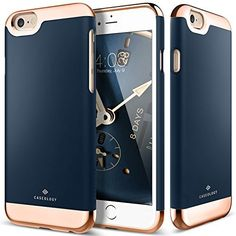 iPhone 6S Case, Caseology® [Savoy Series] [Navy Blue] Dual Layer Slider / Soft Interior Cover [Premium Rose Gold Case] for Apple iPhone 6S (2015), http://www.amazon.com/dp/B013VTS0KS/ref=cm_sw_r_pi_awdm_Gjccwb196E8CB