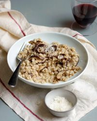 Mushroom Orzotto Recipe on Food & Wine