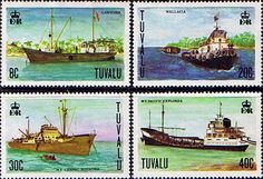 Postage Stamps Tuvalu 1978 Ships Set SG Scott Fine Mint Other European and British Commonwealth Stamps HERE! South Pacific, Pacific Ocean, Ellice Islands, International Date Line, Polynesian Islands, Island Nations, Buses, Postage Stamps, Ephemera
