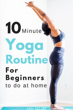 Want to start yoga but have no idea where to begin? Well these 5 yoga poses are . Want to start yoga but have no idea where to begin? Well these 5 yoga poses are perfect for any beginner no matter what shape or size you are. Yoga Meditation, Yoga Flow, Yin Yoga, Yoga Sequence For Beginners, Yoga Routine For Beginners, Beginner Yoga Sequences, Best Yoga For Beginners, Yoga Inspiration, Yoga Fitness