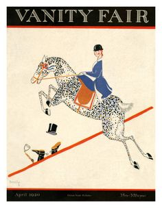 Vanity Fair Cover - April 1920 Premium Giclee Print