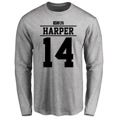 Chris Harper Player Issued Long Sleeve T-Shirt - Ash