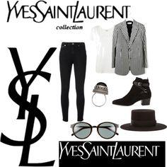 Yves Saint Laurent's man