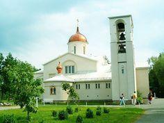 New Valamo monastery main church, Heinavesi - Valamon Kristuksen kirkastumisen munkkiluostari (Uusi-Valamo) on Suomen ortodoksisen kirkon luostari Heinävedellä Etelä-Savossa. Photo: Pertsaboy/Wikipedia