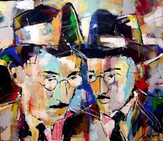 Fernando Pessoa by Francisco Xicofran Arte Pop, New Art, Painting & Drawing, Artsy, Are You Happy, World, Drawings, Artwork, Image
