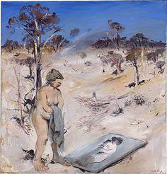 Arthur Boyd - Found on portrait. Australian Painters, Australian Artists, Arthur Boyd, Avant Garde Artists, National Portrait Gallery, World War Two, Graffiti, Visual Arts, Figurative