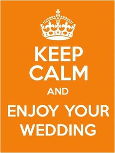 Wedding words of wisdom for your wedding day!