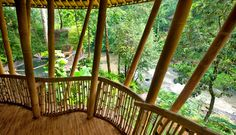 Explore This Incredible Green Village in Bali Made Entirely From Bamboo