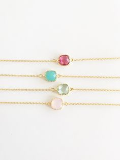 Simply sweet. The perfect dainty piece for every day wear!These bracelets are perfect for the minimalist. You can wear this alone, or as a layering piece.Makes the perfect gift for your girlfriend, wife, wedding party, or of course, your self!14 k gold plated bracelet is appx 6.3 inches with a 1.2 inch extender. Charm is appx 9 mm.