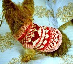 Ravelry: Puppy Love Dog Sweater pattern by My Savannah Cottage