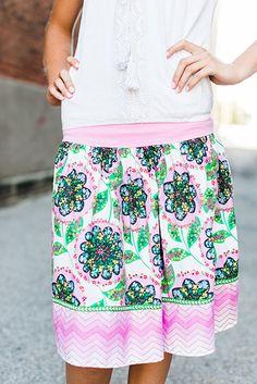 Take Note Skirt