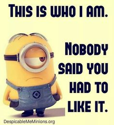 23 Gut-Busting Funny Minion Quotes This is my happiest place on earth. I don't have to go anywhere or do anything, instead, just sit! Why is that? All comebacks come after we've already finished arguing! Doesn't that sound like the best day ever? Whoops! All you can do is laugh and blush! It's very serious. …