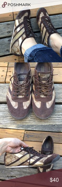 Coach Sneakers Yolanda Size 8.5 Good condition, light weight, comfortable. Coach Shoes Sneakers