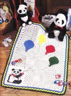 Baby Afghan Crochet Patterns  7 Lovely Designs  por PaperButtercup, $8.00