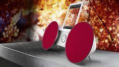Para los más atrevidos, BeoPlay A8 en color rojo