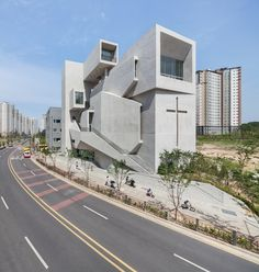 Completed in 2015 in Gimpo-si, South Korea. Images by  Kyungsub Shin. Buildings of the Gimpo new town, where everything looks as new, clean and as fresh as fishes caught in a milk bottle. Well-structured roads and...